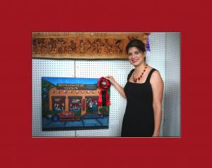 Contemporary Hispanic Market Awards Artist Victoria De Almeida As Best New Exhibitor Of 2010
